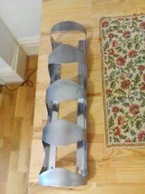 VURM 4-bottle wine rack Stainless steel – IKEA