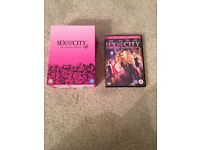 Full sex and the city box set and movie dvds