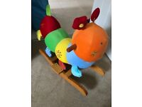 Caterpillar rocking horse