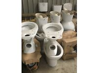 Job Lot Arrived, Baths, Toilets, Wash Basins, Sinks, Toilet WC's Cloakroom Sinks Suit One Buyer