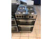 Refurbished teba electric cooker stainless steel 50cm