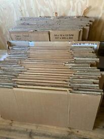 Cardboard boxes for large house move