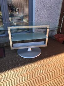 Beautiful solid glass TV Stand