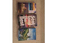 Scotland travel books, great gift!