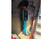 Leaf blower and grass trimmer