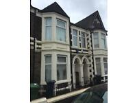 To let 4/5 bedroom house single or multi let Cathays near Universities