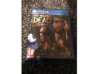 The walking dead ps4 game