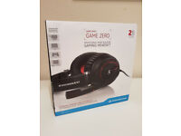 SENNHEISER GAME ZERO BLACK GAMING HEADPHONES - BRAND NEW !!!