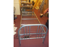 Metal Single Bed Frame - Good Condition - Free Delivery
