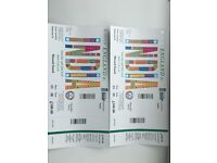 2 Tickets IND Vs ENG 2nd ODI at Lords Saturday 14th July 2018