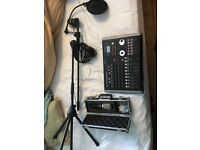 Tascam DP02 Digital Recording bundle kit
