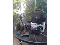 **Canon 80D Digital SLR Camera + 2 Lenses & Accessories**