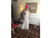 Alexia designs wedding dress size 12 new from sample sale