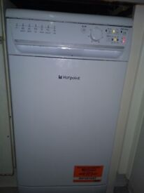 Hotpoint Aquarius SIAL11010P Slimline Dishwasher - White - A+