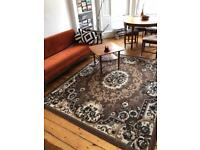 2 x retro vintage rugs for sale