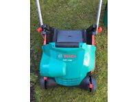 Bosch AVR 1100 lawnrake - used 1 like new, no box - £150+ brand new to buy now, get a bargain!