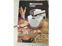 Kenwood Chef Food Mixer, vintage 1980s