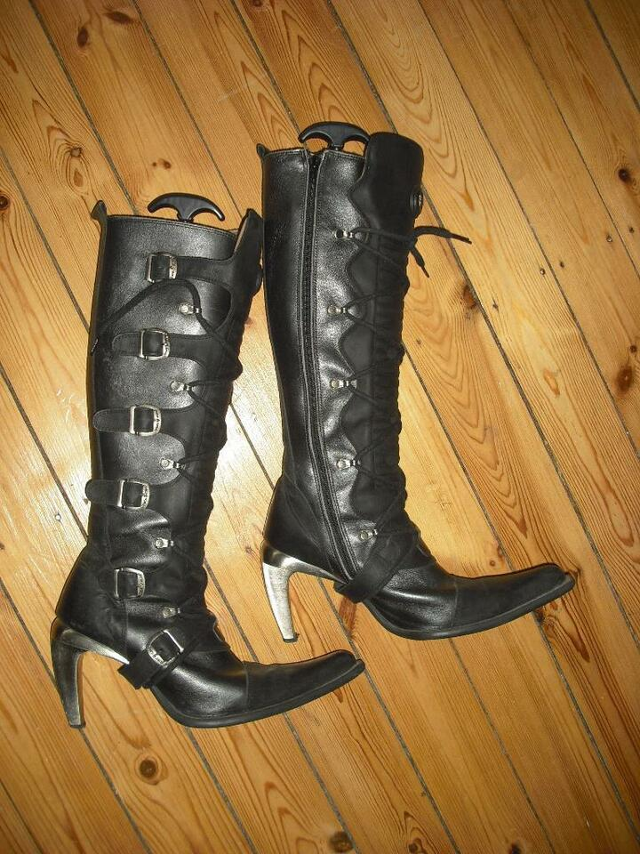 NEW ROCK Gothic Wave Metall Edel Stiefel Gr.39