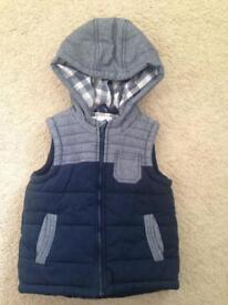 Next age 2-3 Years body warmer / coat / jacket