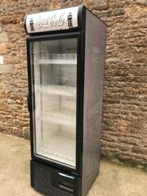 Fridge single door bottle display fridge