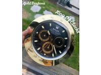 Rolex wall clock - Gold Daytona - Trusted Longterm Seller