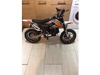 Xtreme XTM pro-ride kids 50cc petrol dirt bike mini moto. Child's motorbike 2017 model