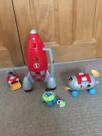 ELC Happyland Space Rocket set