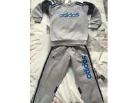 Adidas tracksuit and body warmer