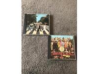The Beatles - Abbey Road & Sgt Pepper CDs