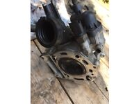 Vespa 250 Cylinder head For Sale (fuel injected)