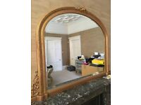 Gilt Overmantle excellent condition