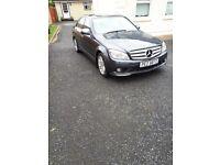 07 Mercedes Benz c class 2.2