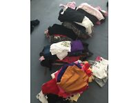 Huge bundle girls clothes and shoes boots age 9, 10, 11, 12, 13 plus some size 6, 8, 10