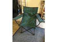 Camping/Fishing Folding Chairs x 2