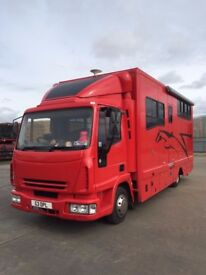 IVECO 7.5T HORSE WAGON (2005 REG: 2012 CONVERSION) 146k MILES - IMMACULATE CONDITION
