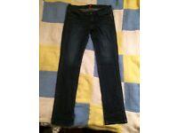 Uniqlo size 12 long women's jeans