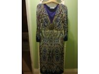 Wallis print ladies dress size S