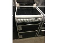 HOTPOINT DSC60P Electric Ceramic Cooker - White (3 of 3)