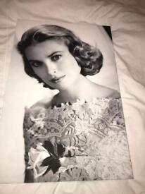 Grace Kelly canvas painting