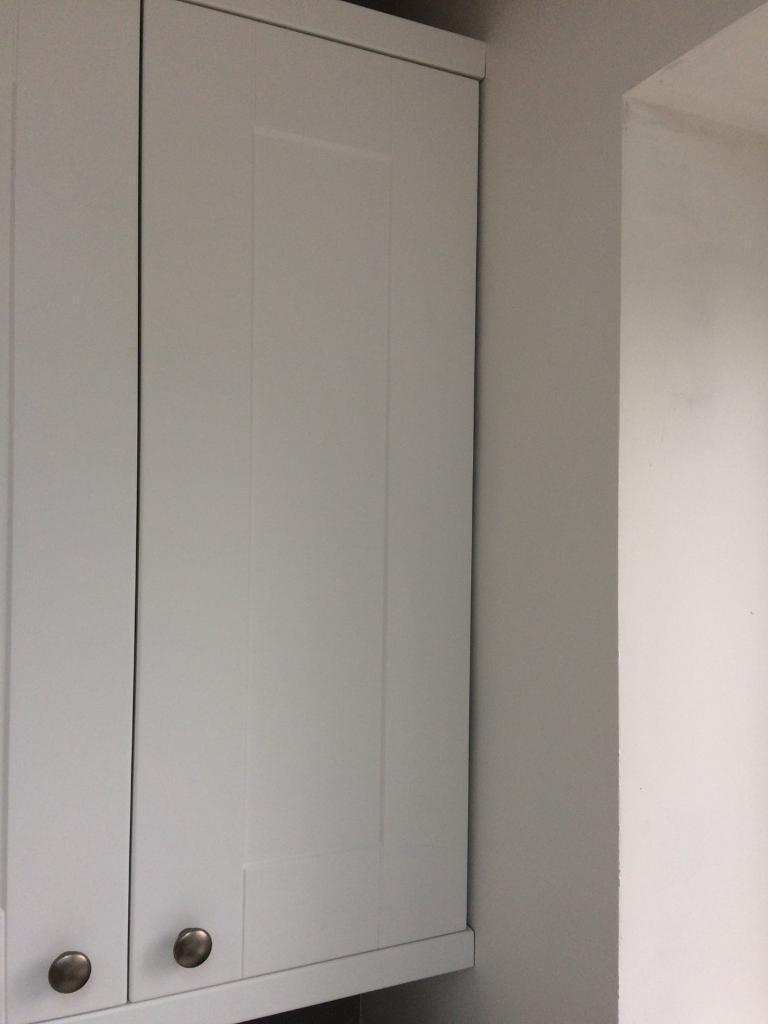 Wren Infinity Plus One Door Wall Cabinet In White