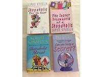 4 Sophie Kinsella books