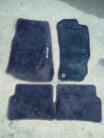 Mazda RX8 - floor mat set - black