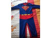 boys superman onesie 8-9 years 134 cm