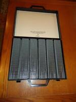 POSSO Slide Projector Cartridges & Carrying Case