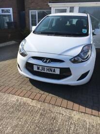 Hyundai ix20 blue motion 2011 £30 Road tax