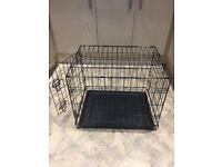 Black small pet cage
