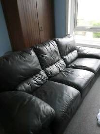 New leather sofa for sale