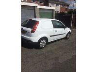 Ford Fiesta van for sale ,in white in really good condition 2008