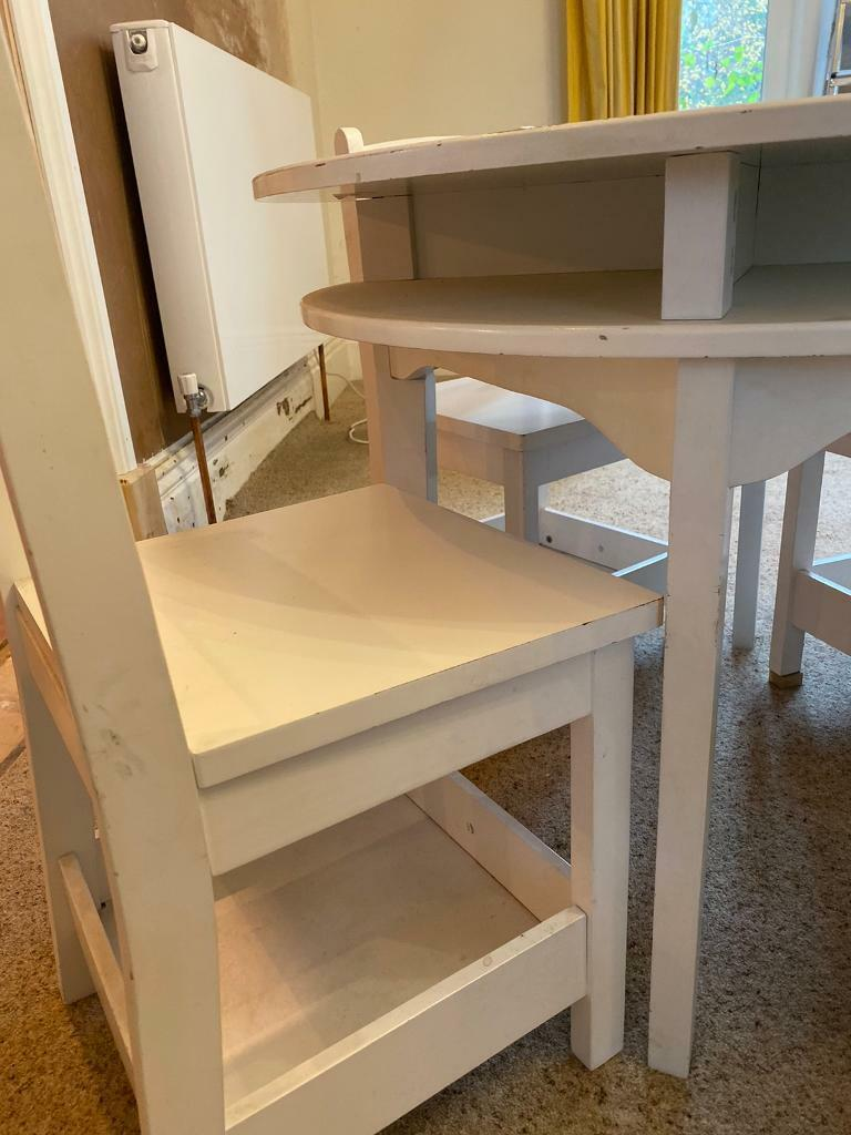 Child Table And 4 Chairs Free To Good