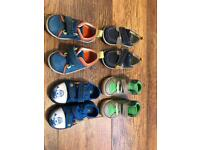 Mixed lot of toddler boys shoes size 4-5